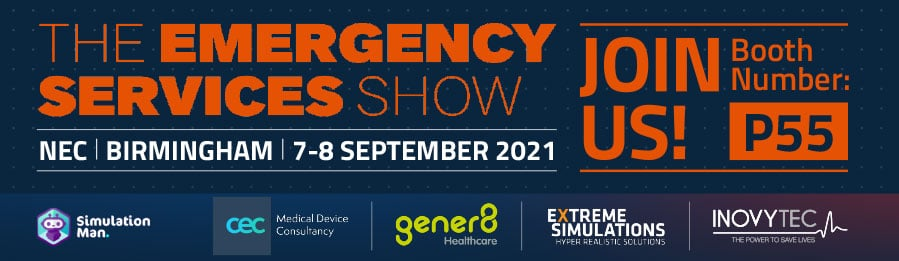 Visit us at the Emergency Services Show 2021 on stand 55