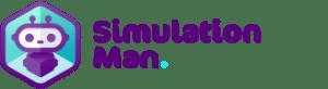 Simulation Man Logo
